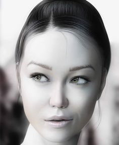 3D realistic female models
