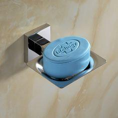 Modern SUS 304 Stainless Steel Bathroom Holder Modern Smooth Mirror Bathroom Accessories Hardware Set Soap Dish #Affiliate