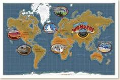 AMAZING WONDERS AVIATION MAP AWESOME GOD ! AMAZING POWER !