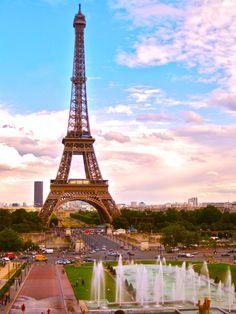 Paris, France, Eiffel Tower http://www.codymafatu.blogspot.com/