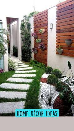 Modern Backyard, Backyard Garden Design, Small Backyard Landscaping, Small Garden Design, Backyard Patio, Small Patio, Backyard Ideas, Patio Ideas, Patio Stairs