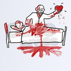 awesome valentines day card... very violent... lol!!
