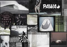#surfart #collage #pawaart #pawasurfco #pawa #surfing #surf