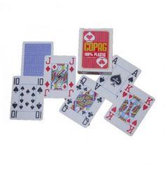 Copag jumbo index plastic pokerkaarten behoren tot de beste poker kaarten ter wereld.  Al jarenlang een bestseller en zeker niet zonder reden. De kaarten zijn zeer flexibel en gaan uitzonderlijk lang mee. Uitstekende prijs/kwaliteit verhouding.