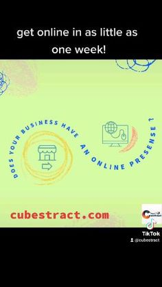Your business doesn't even exist for potential customers if it doesn't have an online presence. We can help you get 🌐online in as little as one week! Visit cubestract.com #onlinepresence #reputationmanagement #socialmarketing #scaleyourbrand Reputation Management, Build Your Brand, One Week, Social Marketing, Business, Store, Business Illustration