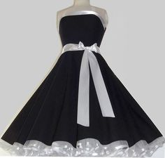 Süßes Rockabilly 50er,Party,Tanz,Kleid zum Petticoat,34-36,38 -42,44-46,48-52,Neu c0c6100b65