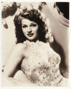 Rita Hayworth Vintage Photograph Signed | eBay