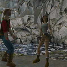 tumblr_nfvj4zrQod1qiq3fqo4_400.gif Tomb Raider 1, Tomb Raider Lara Croft, Queen Of The Game, Lady