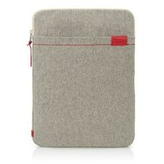 Amazon.com: Terra Collection 15-Inch Sleeve - Cream White/Fiery Red: Computers & Accessories