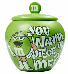 M & M's Cookie Jar