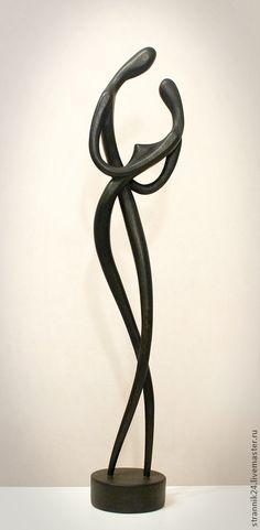 "Скульптура из дерева ""Танго"", $243"