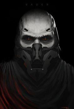 Darth Vader Redesign by theartofTK on DeviantArt