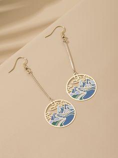 Ear Jewelry, Cute Jewelry, Jewelry Accessories, Fashion Accessories, Fashion Jewelry, Jewelry Design, Jewlery, Cute Earrings, Drop Earrings