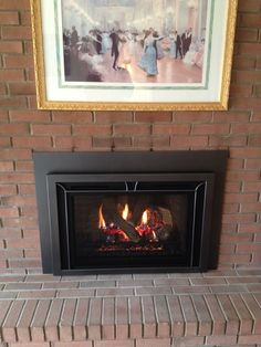Heat n Glo Escape I35 gas fireplace insert