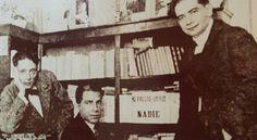 """Alonso Quesada, Saulo Torón y Tomás Morales, escritores canarios de época modernista. Ojo al cartel: """"No presto libros a nadie"""""""