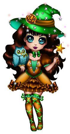 Kobold, Halloween Doll, Halloween Cartoons, Halloween Witches, Fairy Pictures, Goth Art, Halloween Coloring, Fairy Art, Fairy Dolls