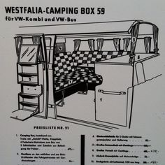 Started it all. Westfalia Camping Box.