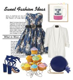 """So Sweet!"" by pixidreams ❤ liked on Polyvore featuring Joe Browns, River Island, Wilton, Gianvito Rossi and Kate Spade"