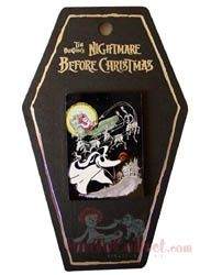 Nightmare Before Christmas Haunted Holiday Sandy Claws Pin 1/5