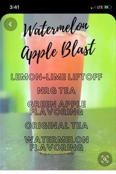 Herbalife Nutrition Facts, Herbalife Shake Recipes, Nutrition Club, Nutrition Bars, Tea Recipes, Smoothie Recipes, Herbal Life Shakes, Clean Drink, Tea Smoothies
