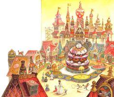 çizgili masallar: The Nutcracker by Maxim Mitrofanov