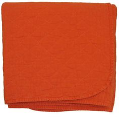 throw blanket - orange - comes as king size coverlet
