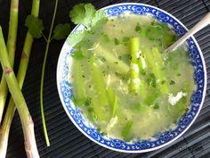 Marlyzen, cuisine revisitée: Soupe de crabe aux asperges (potage vietnamien)