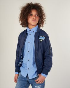ΑΓΟΡΙΣΤΙΚΟ ΠΑΝΩΦΟΡΙ BOMBER Teen Fashion, Buddha, Denim, Jackets, Down Jackets, Jacket, Teen Girl Fashion, Teenager Fashion, Jeans