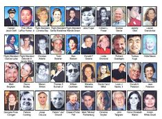 The crew and passengers of United Flight 93.  They were the REAL heroes of the dreadful attack on Sept. 11, 2001... May you all rest in peace.
