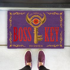 (affiliate link) Zelda: Boss Key Doormat