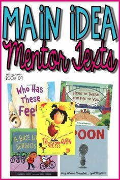 1st Grade Books, 5th Grade Reading, Reading Skills, Teaching Reading, Reading Strategies, Reading Response, Kindergarten Writing, Learning, Main Idea Activities