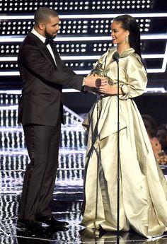Fashion Diaries: Best Dressed Celebs at the VMAs 2016: Drake & Rihanna