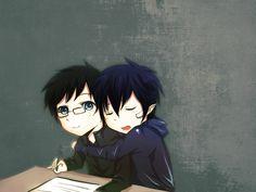 Blue Exorcist Rin and Yukio