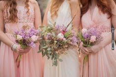 Bohemian bouquets | CHECK OUT MORE IDEAS AT WEDDINGPINS.NET | #weddings #weddingflowers #weddingbouquets #bouquets