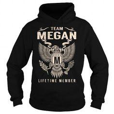 I Love Team MEGAN Lifetime Member - Last Name, Surname T-Shirt T shirts