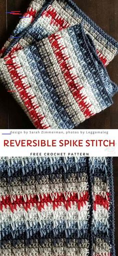 Crochet afghans 204843483039366260 - Reversible Spike Stitch Free Crochet Pattern Source by Crochet Afghans, Crochet Stitches Patterns, Crochet Patterns For Beginners, Baby Blanket Crochet, Hand Crochet, Crochet Hooks, Free Crochet, Crochet Baby, Crochet Quilt Pattern
