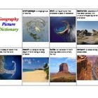 This is a picture dictionary with 45 of the most common geography words.  Each word has a short definition and a picture.  There are six pages with...