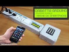 Ciabatta domotica programmabile con arduino - anche da smartphone - tartaglia channel - YouTube