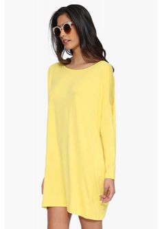 The Necessary Basic Dress in Yellow | Necessary Clothing