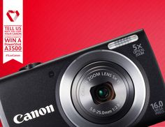 Tell why and you could win a PowerShot Powershot, Zoom Lens, Fujifilm Instax Mini, South Africa, Canon, Competition, Cannon