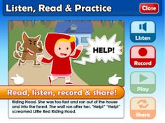 Little Red Riding Hood, a children's fairy tale favorite comes to life in this unique learning app, combining professional HD video storytelling and fun educational activities to help young learners of English across the globe, improve their language in a fun, engaging and memorable way.