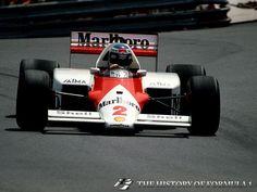 1986 Formula 1 Monaco Grand Prix - Keke Rosberg.