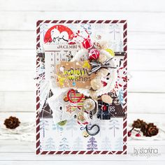 Smile. Live. Scrap.: New Year card.