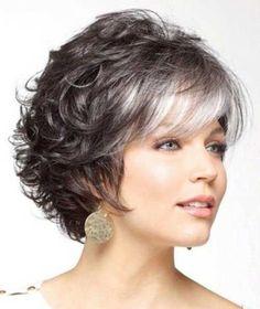cabello corto 2 colores para señoras