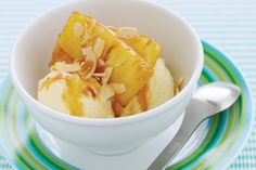 Dress up pineapple in honey, spice and everything nice.