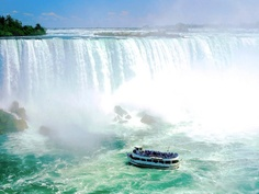 The Maid of the Mist...a must-see attraction while in Niagara Falls...it's awesome! #CDNGetaway