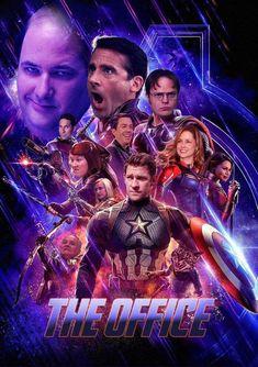 #TheOffice #Avengers #humor #meme