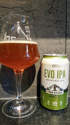 Two Beers Brewing Company Evo IPA. Watch the video beer review here www.youtube.com/realaleguide #CraftBeer #RealAle #Ale #Beer #Beerporn #TwoBeersBrewingCompany #TwoBeersBrewing #TwoBeers #TwoBeersEvoIPA #EvoIPA #AmericanCraftBeer #AmericanBeer
