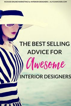 Selling interior design online is here to stay. I've got to tell ya though that it isn't about just slapping up a website and just hoping…