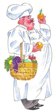 chef.quenalbertini: Chef illustration, Medium